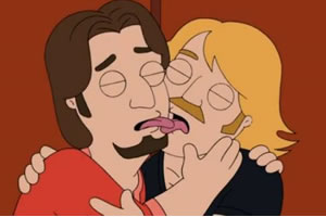 Gay couples, The Cleveland Show, Terry Kimple and Paul