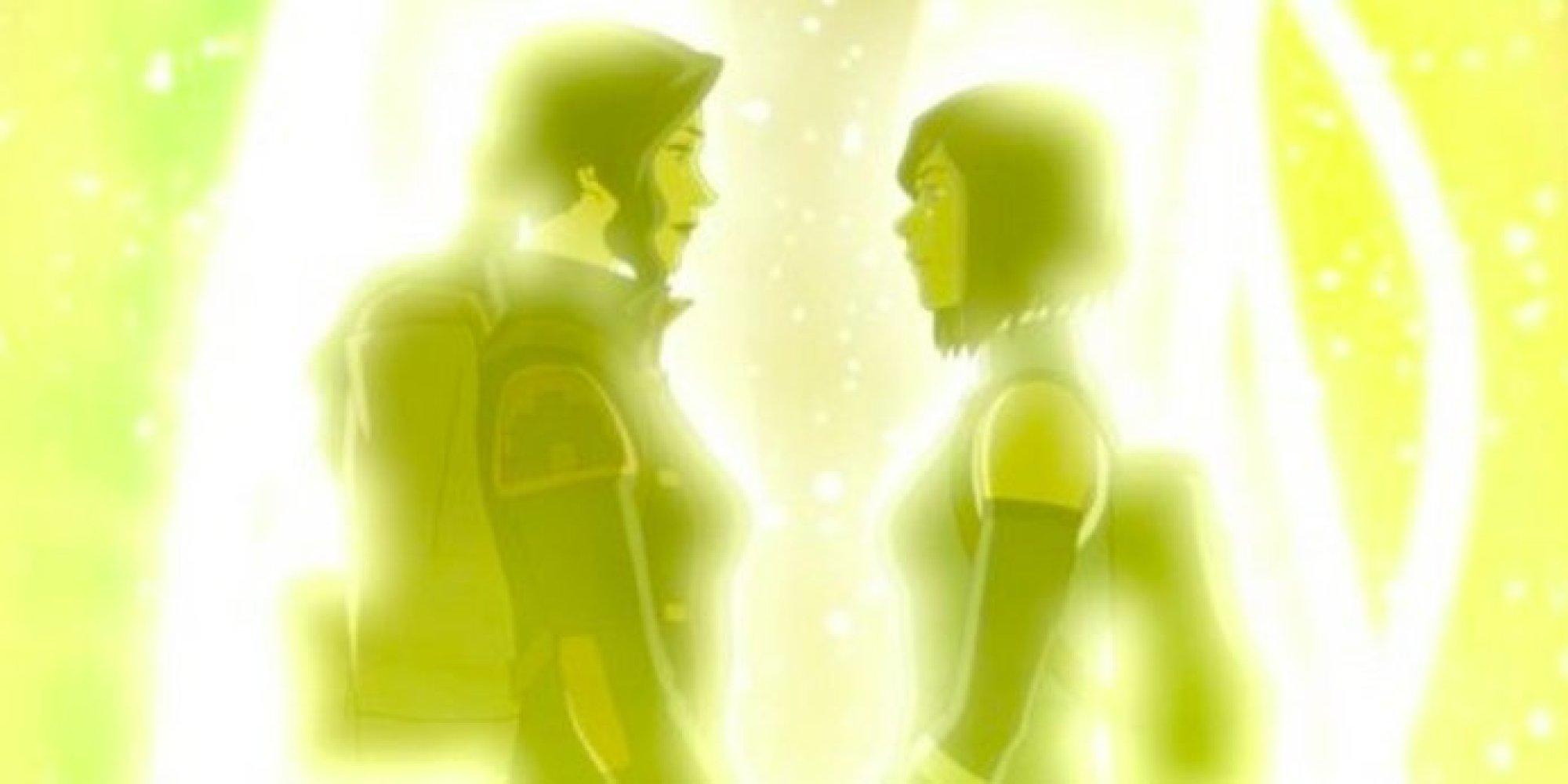 The Legend of Korra, Korran and Asami, gay couple, cartoon