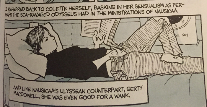 Alison Bechdel, lesbian, graphic novel, memoir, Fun Home, obscene, pornographic