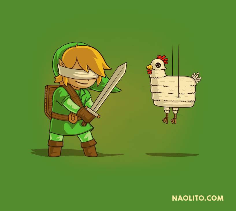 Naolito_Hyllian Piñata