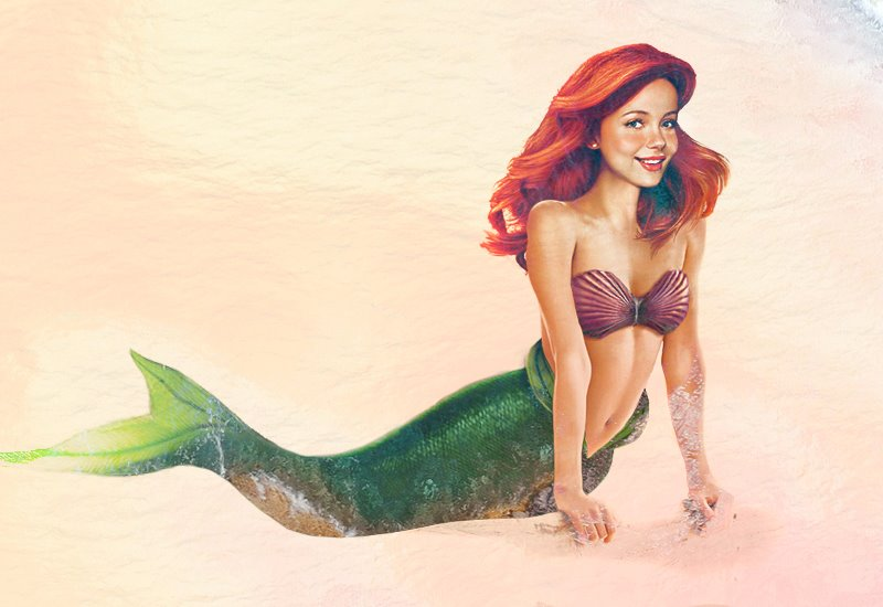 Ariel The Little Mermaid, real life