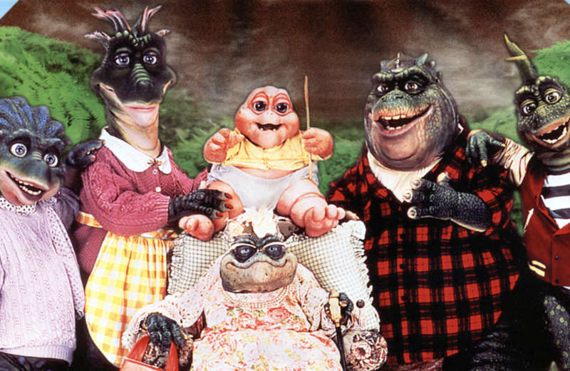 dinosaurs TV show family