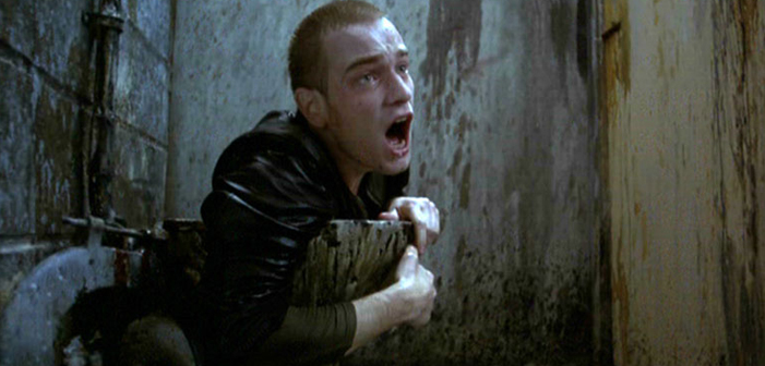 Trainspotting, Ewan McGregor, film, Danny Boyle, toilet