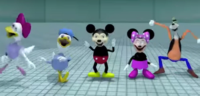 Disney, scary, video, Mickey, Minnie, Goofy, Daisy, Donald