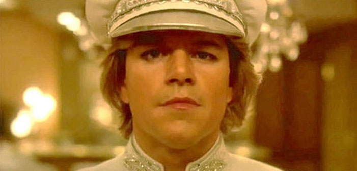 Matt Damon, actor, Behind the Candelabra