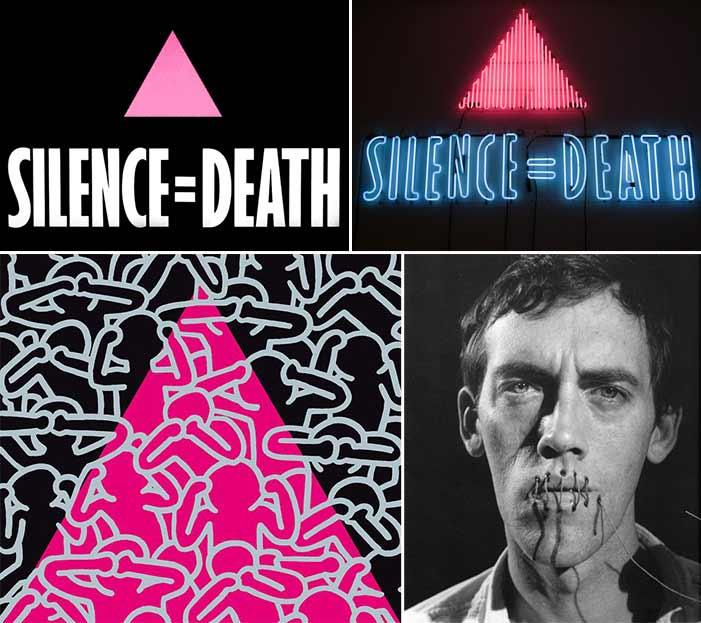 Silence = Death, AIDS, HIV, art, David Wojnarowicz, Keith Haring, Gran Fury