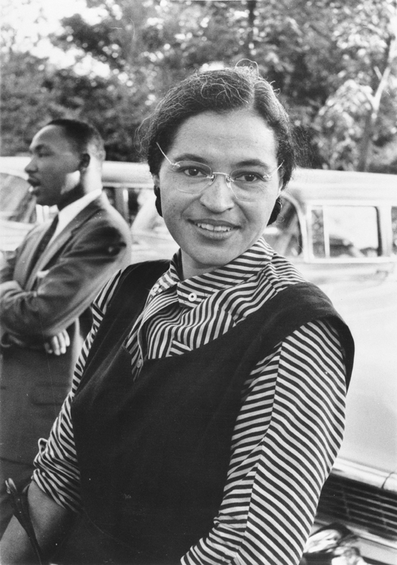 Rosa Parks, Civil Rights leader and Planned Parenthood board member