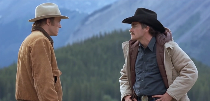 Heath Ledger and Jake Gyllenhaal, Brokeback Mountain