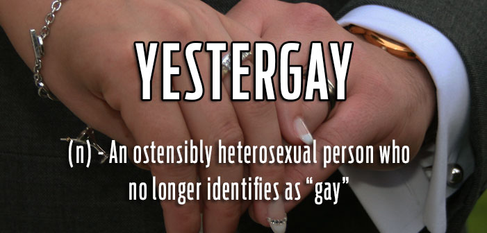 yestergay, gay slang, definition, queer lingo