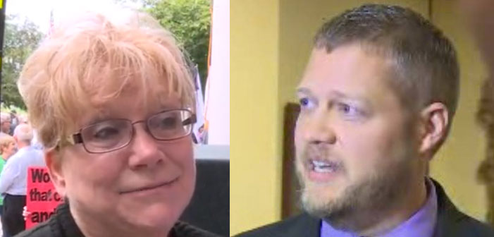 Kay Schwartz, Casey Davis, Kentucky, clerks, homophobia, same-sex marriage