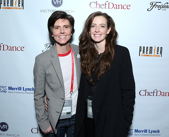 Tig Notaro (left) and Stephanie Allyne