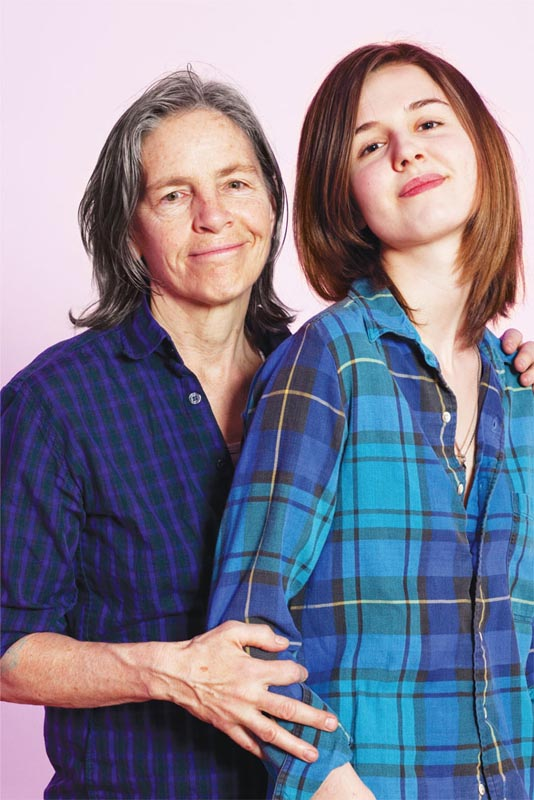 Eileen Myles and Leopoldine Core