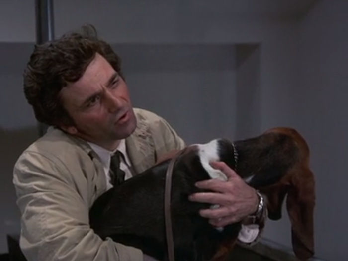 columbo with dog 2