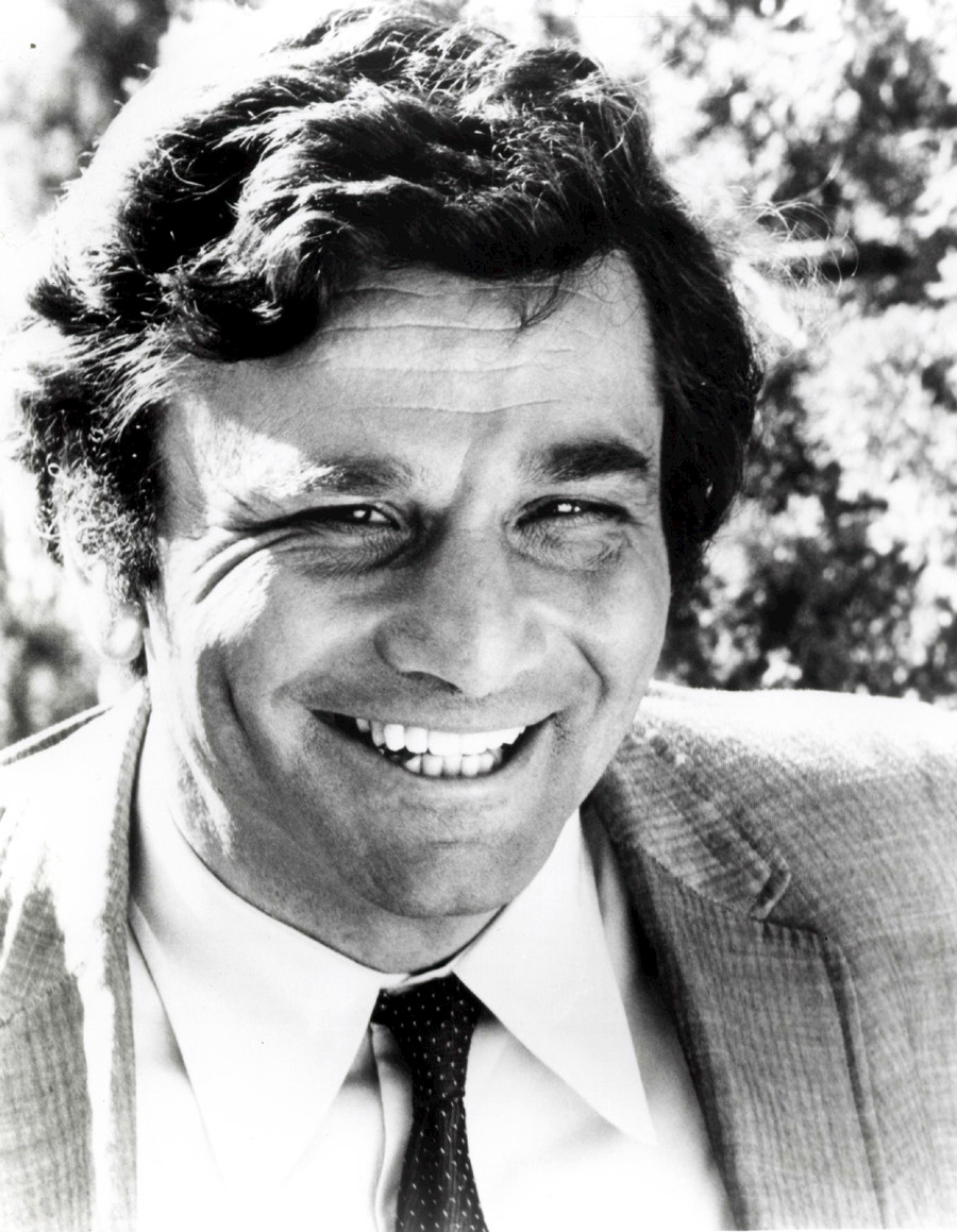 Character actor Peter Falk: did not commit genocide