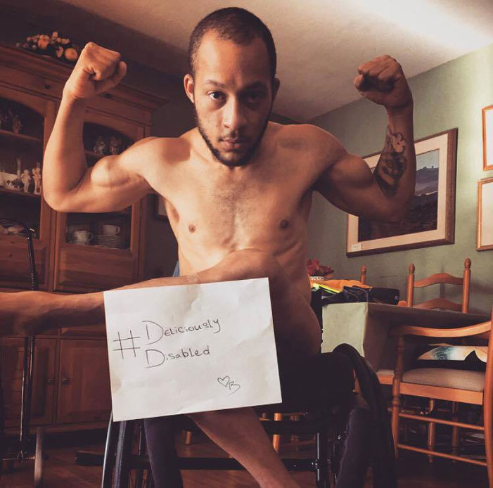 Deliciously Disabled, disabilities, picture, sexy, campaign