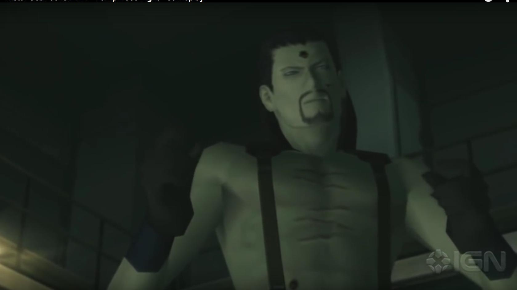 Vamp in Metal Gear Solid 2