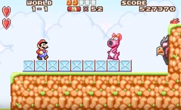 Birdo in Super Mario Bros. 2