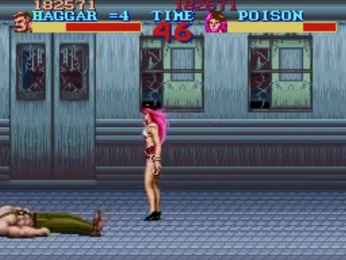 Poison in Final Fight