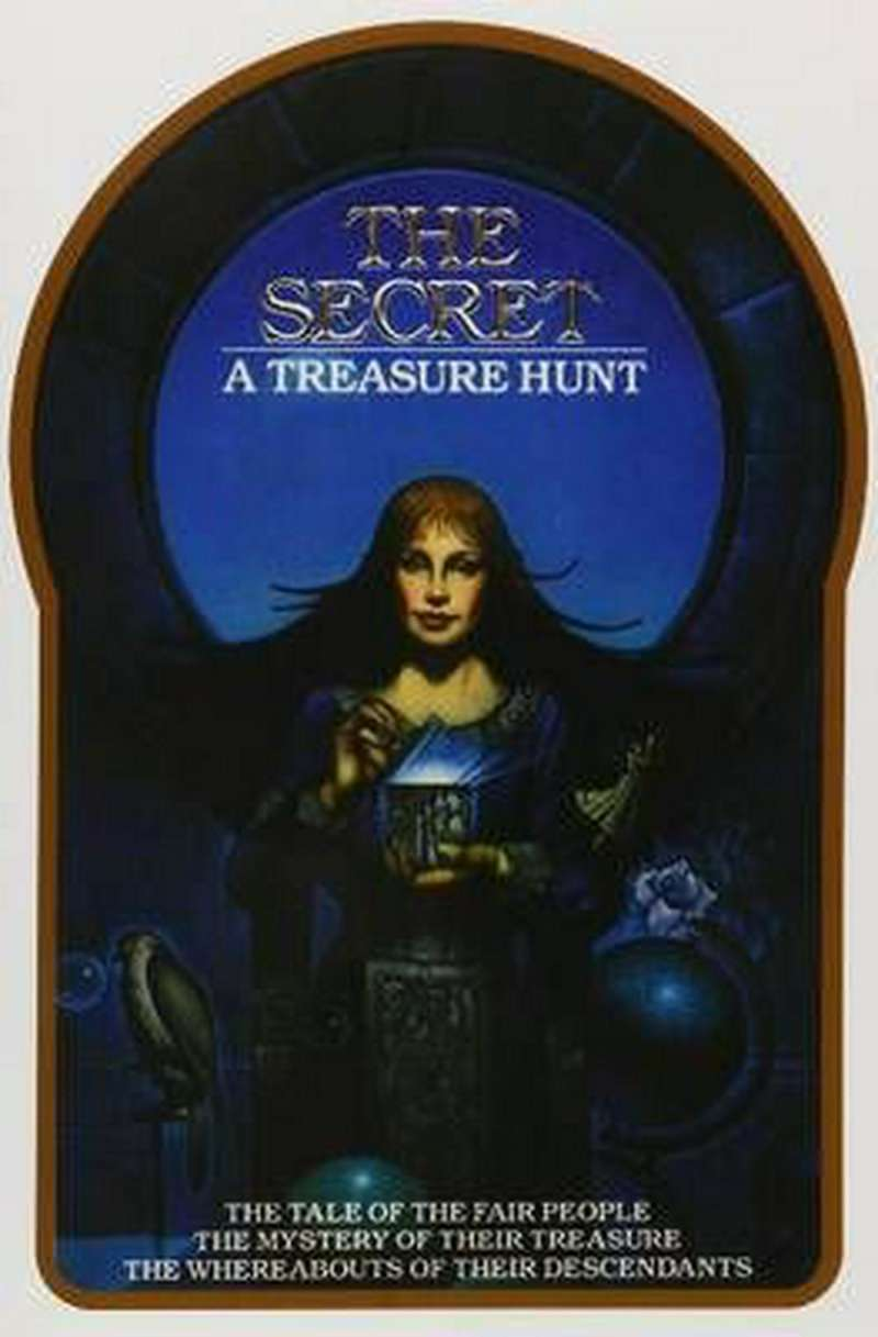 the secret treasure hunt Byron Preiss treasure book The Secret