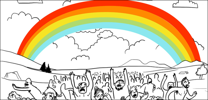 "Naked Bears and Aliens Dominate Funny ""First Rainbow"""