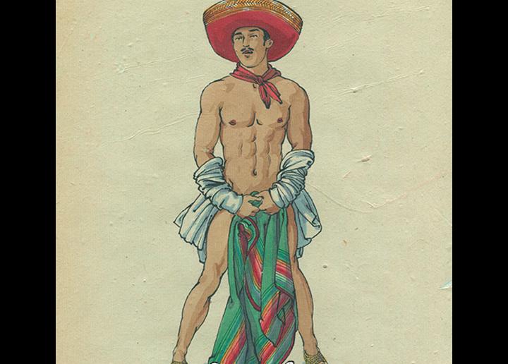 Felix D'Eon, Mexican Pin-Up