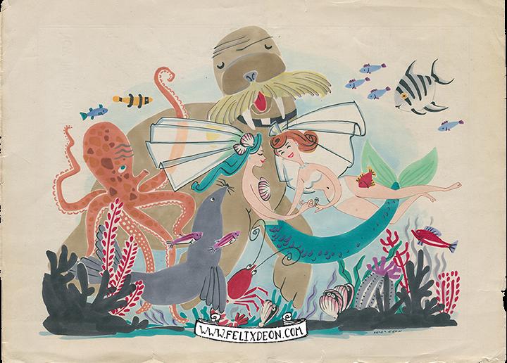 Felix D'Eon, A Mermaid's Wedding