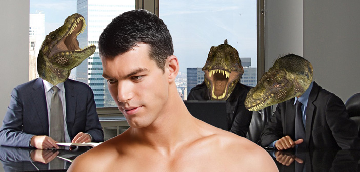 Chuck Tingle, Gay T-Rex Law Firm Executive Boner