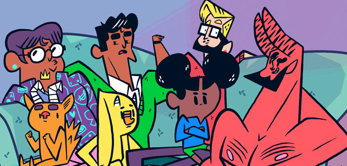 "COMIC: ""What A Queer Family"" Combines Family Values With Magic Demons"
