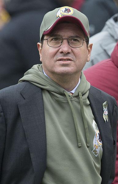 Redskins owner Dan Snyder