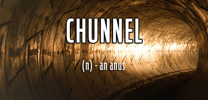 queer slang, term gay, chunnel