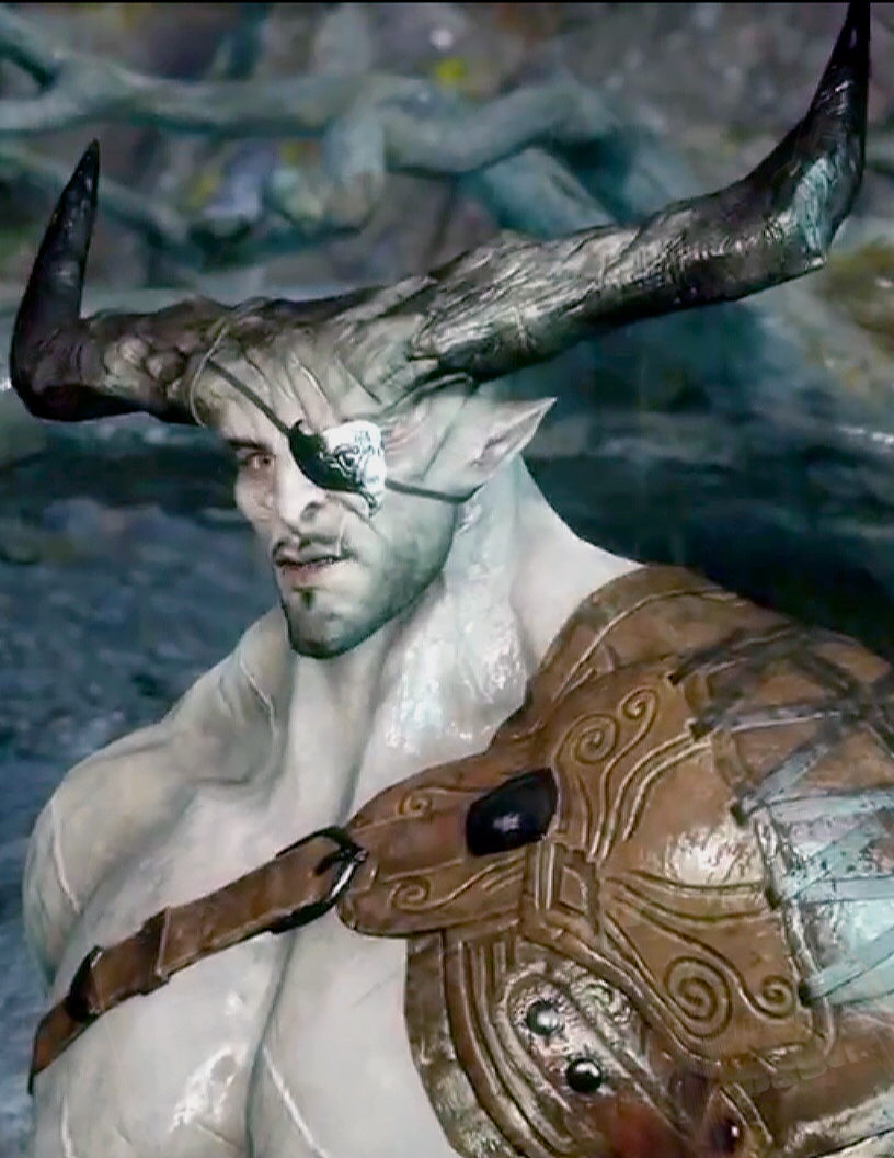 The Iron Bull, videogames, hookup, queer