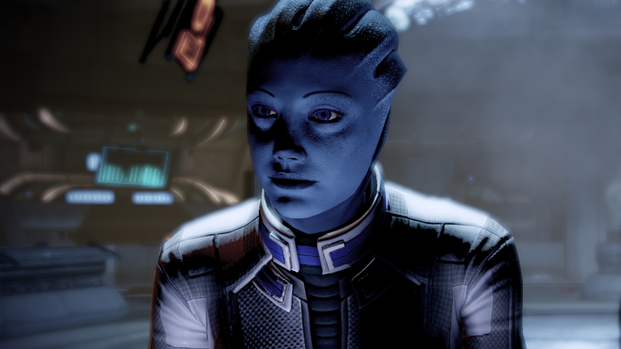 Liara T'Sioni, video games, queer, hookups