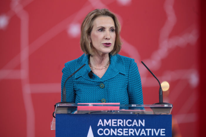 Carly Fiorina, Worst Person of 2015