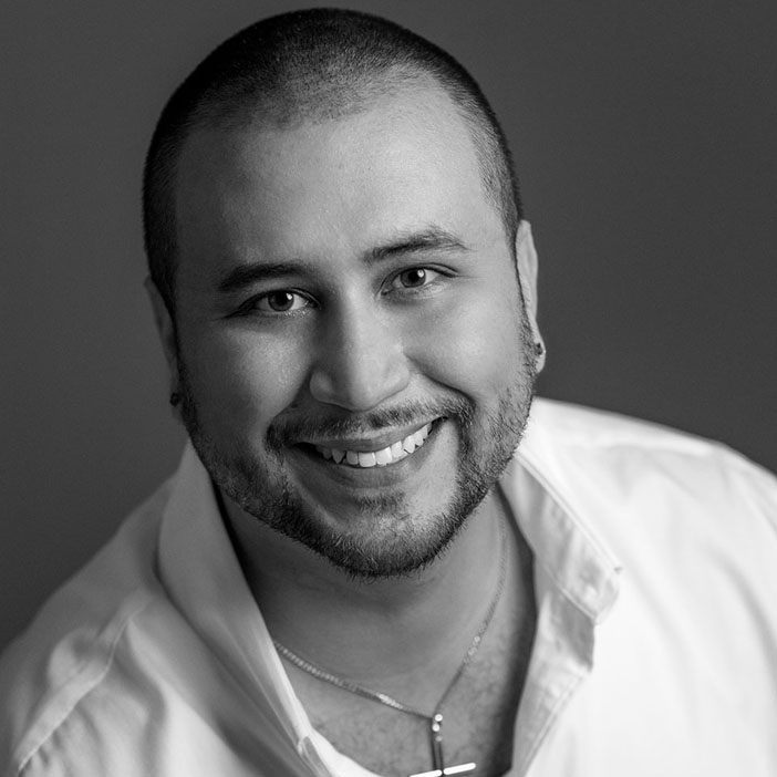 Portrait of George Zimmerman taken in Orlando Florida on October 31, 2015