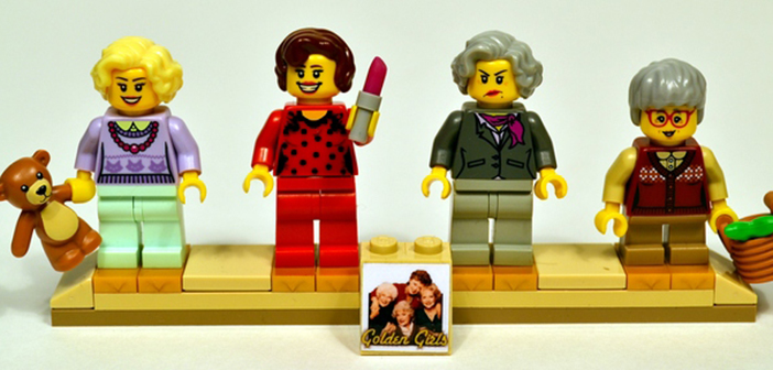 Golden Girls Lego set