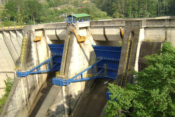 hydroelectric power on Costa Rica's Lake Cachí