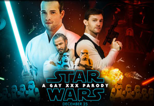 star wars, men.com, gay porn, poster, parody