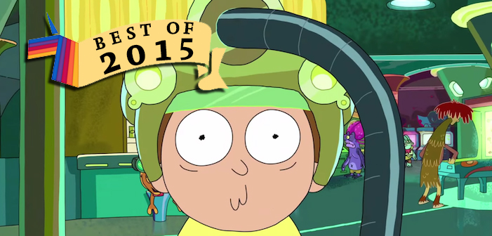 rick and morty, best tv of 2015, best tv, 2015, best of 2015, rick and morty