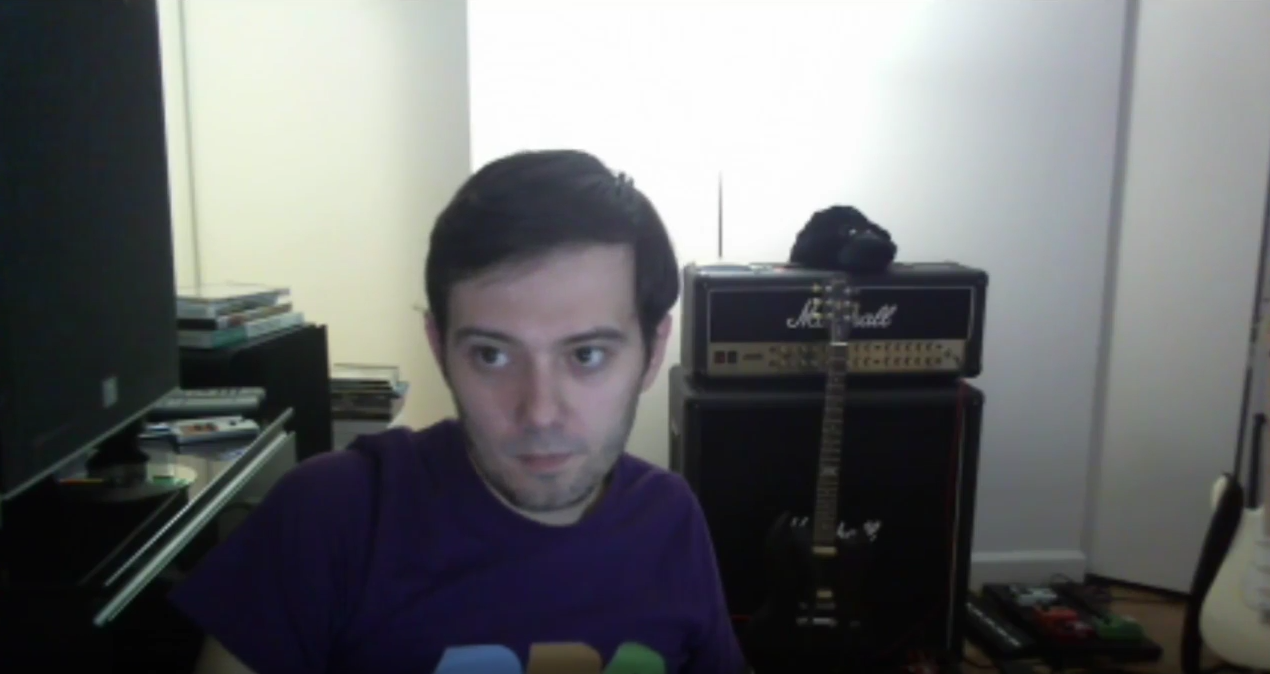 Martin Shkreli Youtube livestream