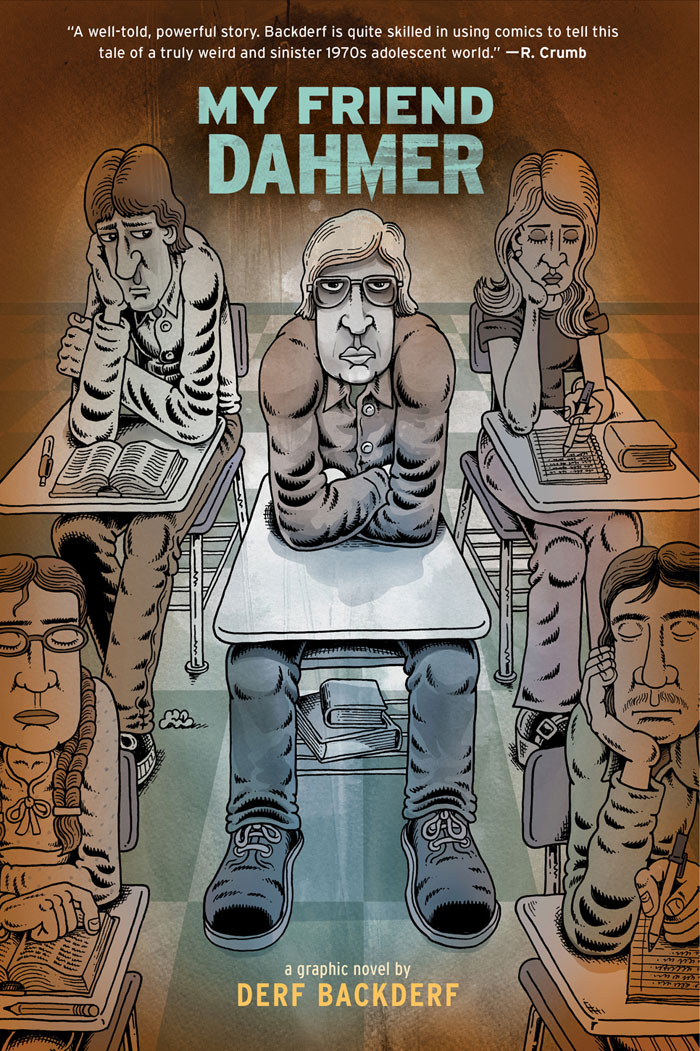 my friend dahmer, derf backderf, derf, comics, facebook real name policy