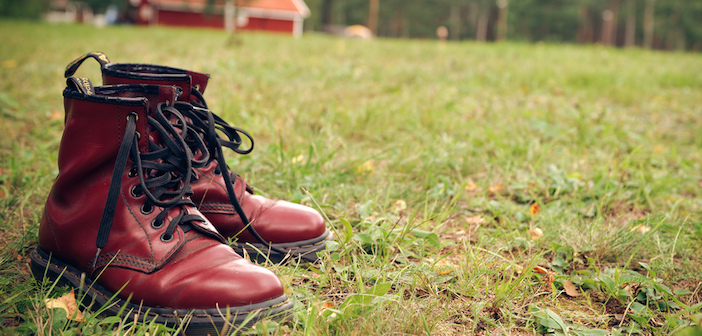 Doc Martens boots by Ronnie Gavelin