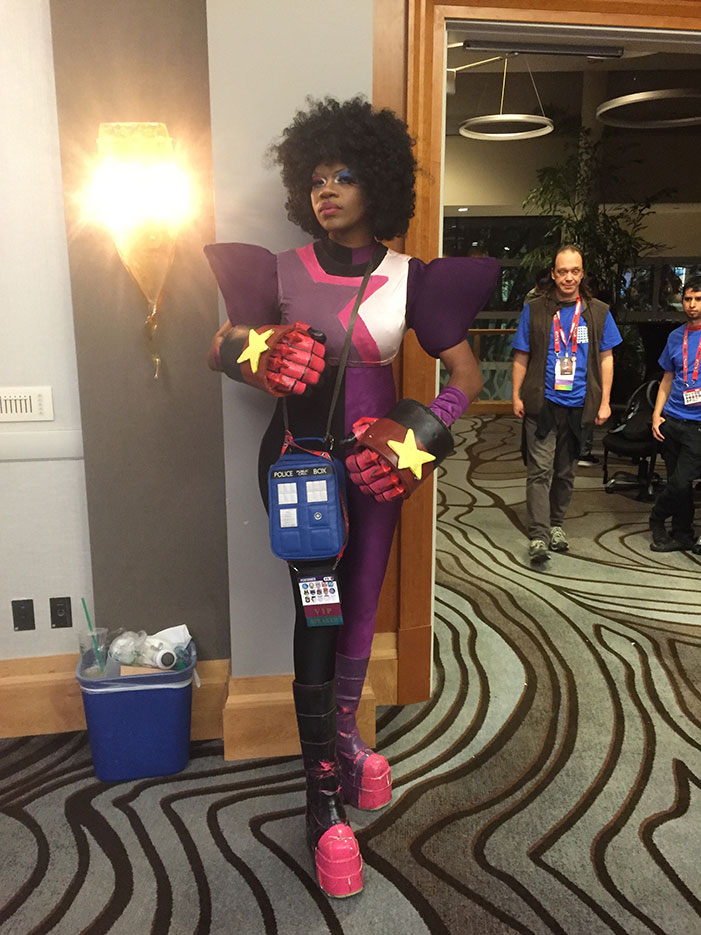 GaymerX, cosplay, video games, geek, costume, Steven Universe, Garnet