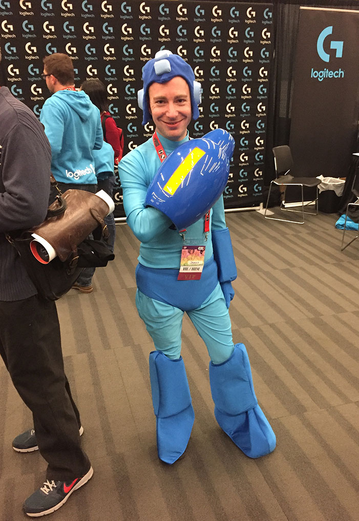 GaymerX, cosplay, video games, geek, costume, Mega Man
