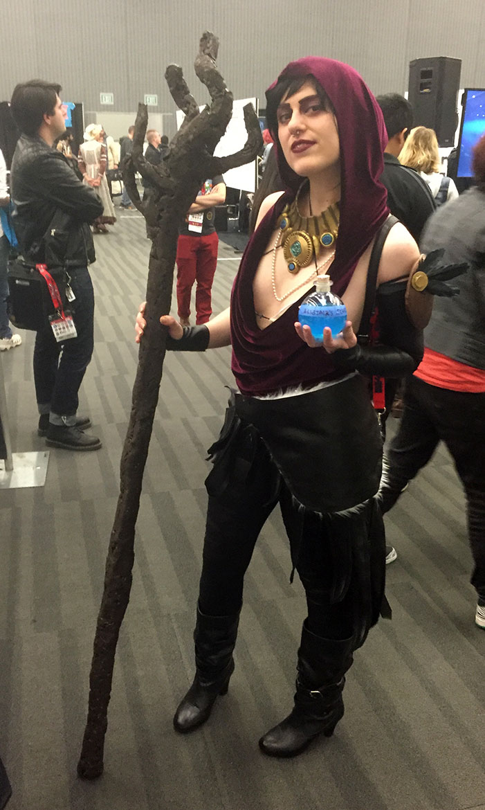 GaymerX, cosplay, video games, geek, costume, wizard, sorceress