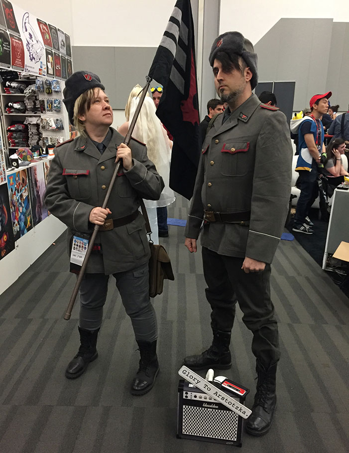Arstotzka, Papers Please, GaymerX, cosplay, video games, geek, costume,