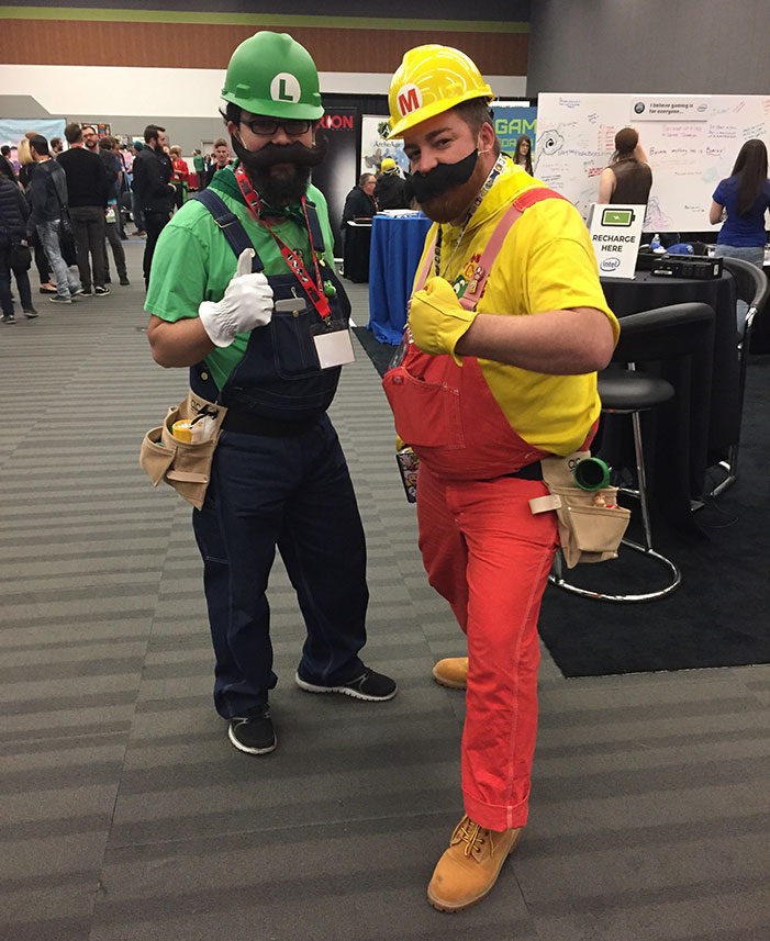 mario, luigi, GaymerX, cosplay, video games, geek, costume, Super Mario Brothers