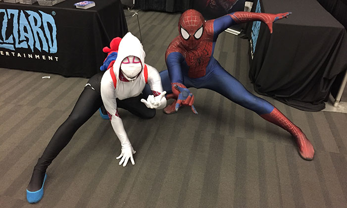 GaymerX, cosplay, video games, geek, costume, superhero, superheroes, Spiderman, Spider Gwen