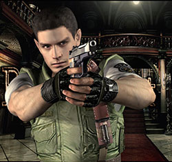 Chris Redfield, Resident Evil