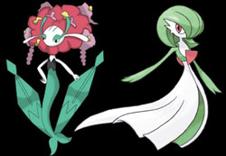 Pokemon, drag queens, plant, grass