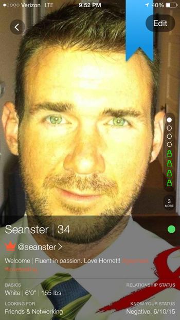 Sean Howell, Hornet, profile, gay, bi, social app, men, interview, gaymerx, blue ribbon boys